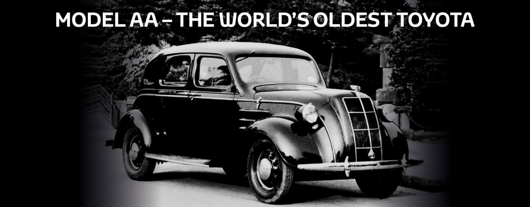 Toyota Model AA – the world\'s oldest Toyota | Lancaster Toyota (Durham)